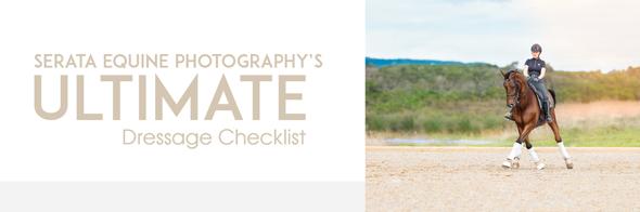 Ultimate dressage competiton checklist